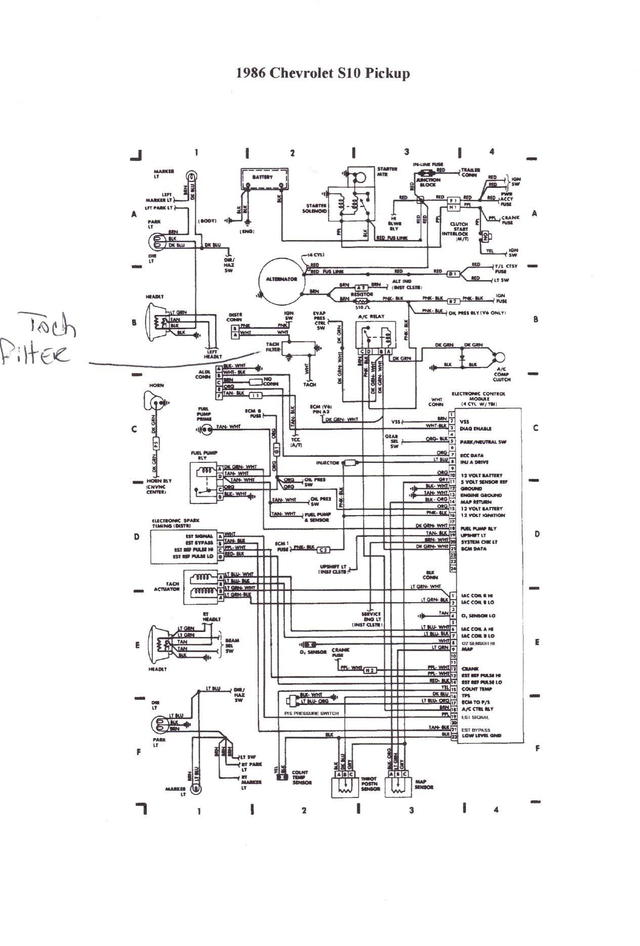 Gemütlich 2002 Chevy S10 Schaltplan Fotos - Schaltplan Serie Circuit ...