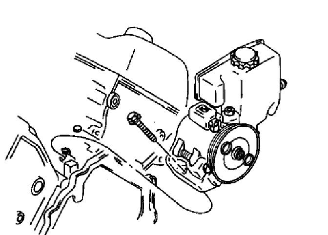 I Am Removing And Replacing The Power Steering Pump On My Cadillac