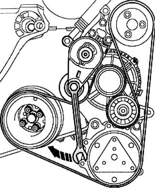 2009 Jetta 2 5 Belt Diagram