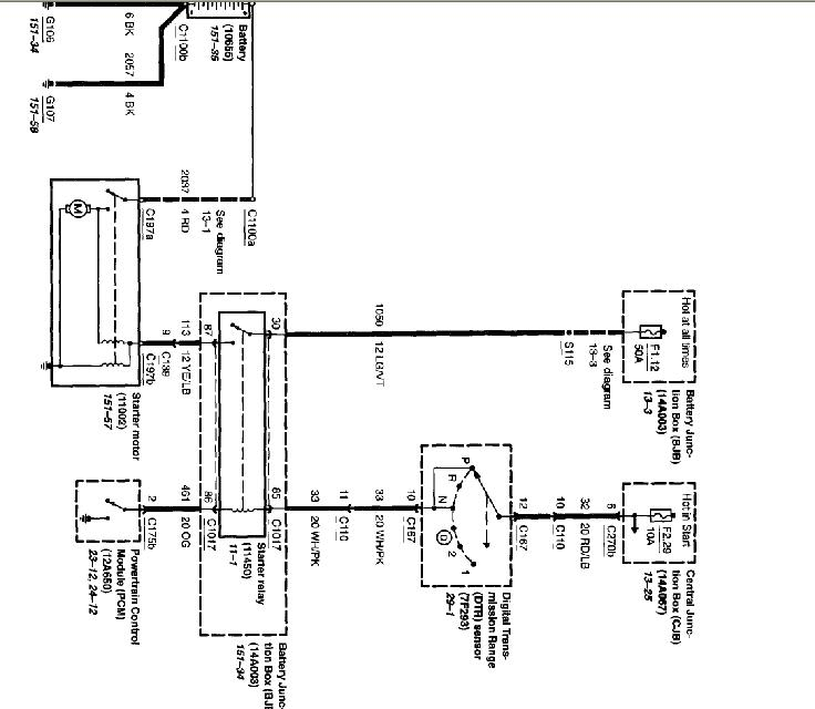 2004 mercury mountaineer fuel pump wiring diagram  mercury