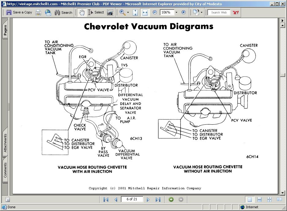 i removed my carburetor on my 1976 chevy nova 250 6 cyl non rh justanswer com Chevy 454 Emission System Diagram 2005 Chevy Malibu Engine Diagram