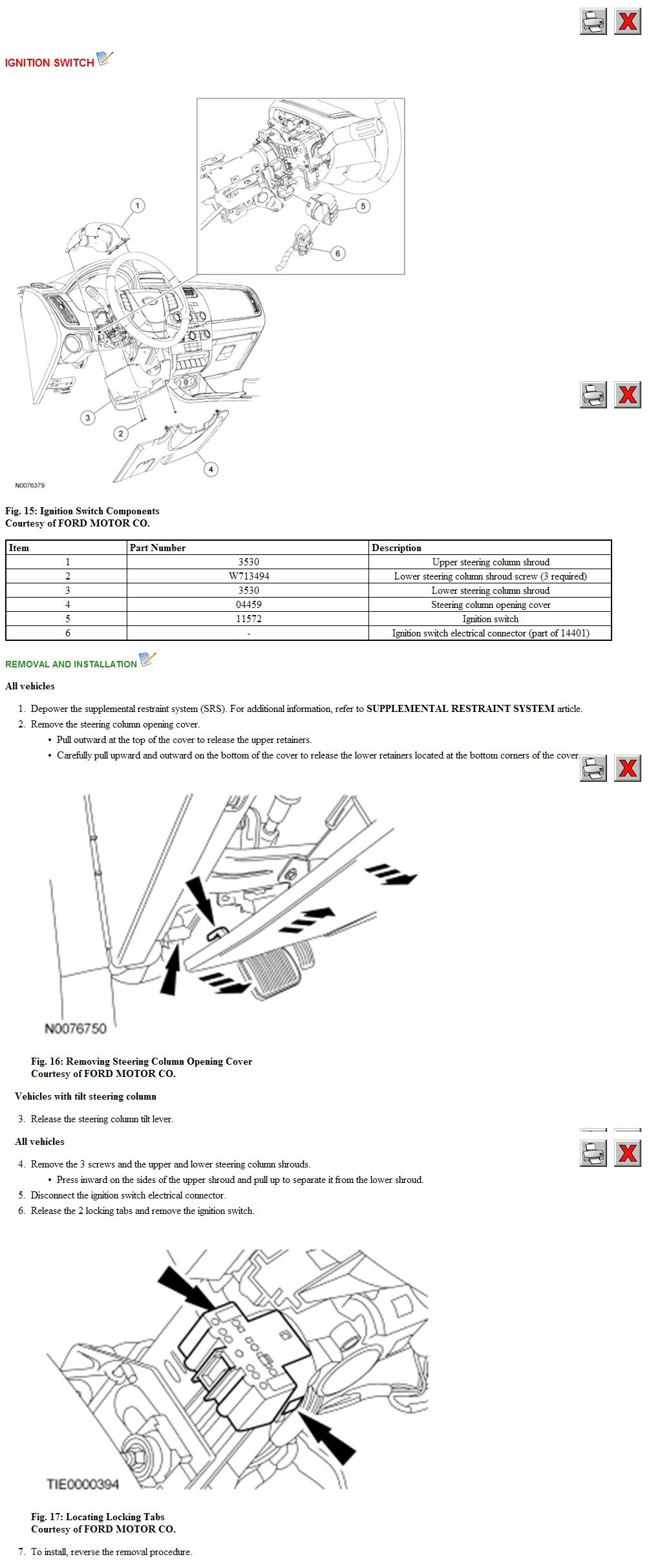 how can you remove the ignition cylinder from a 2008 ford