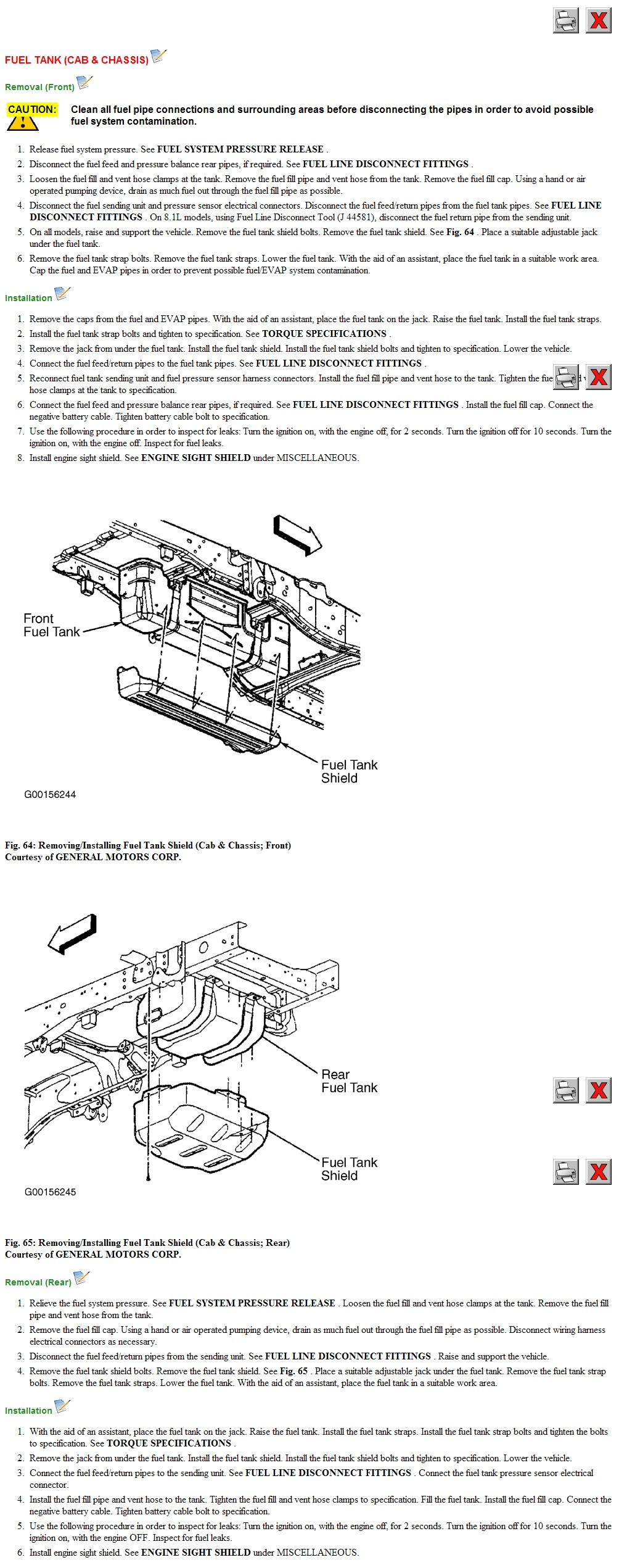Chevy Silverado 2003 Truck Diagram For Replacing Fuel Pump