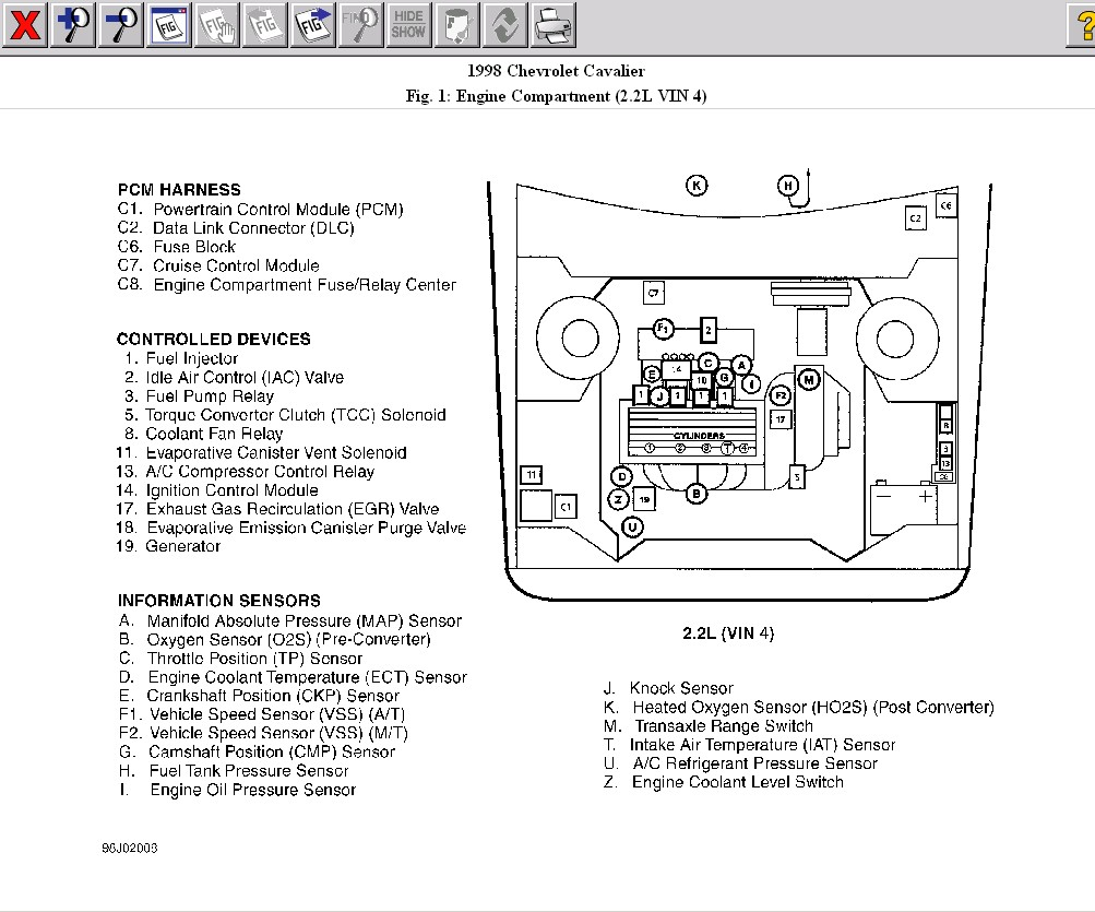 Electric Fan Relay Wiring Diagram For 2002 Chevy Cavalier Expert Starter 1998 Wire Center U2022