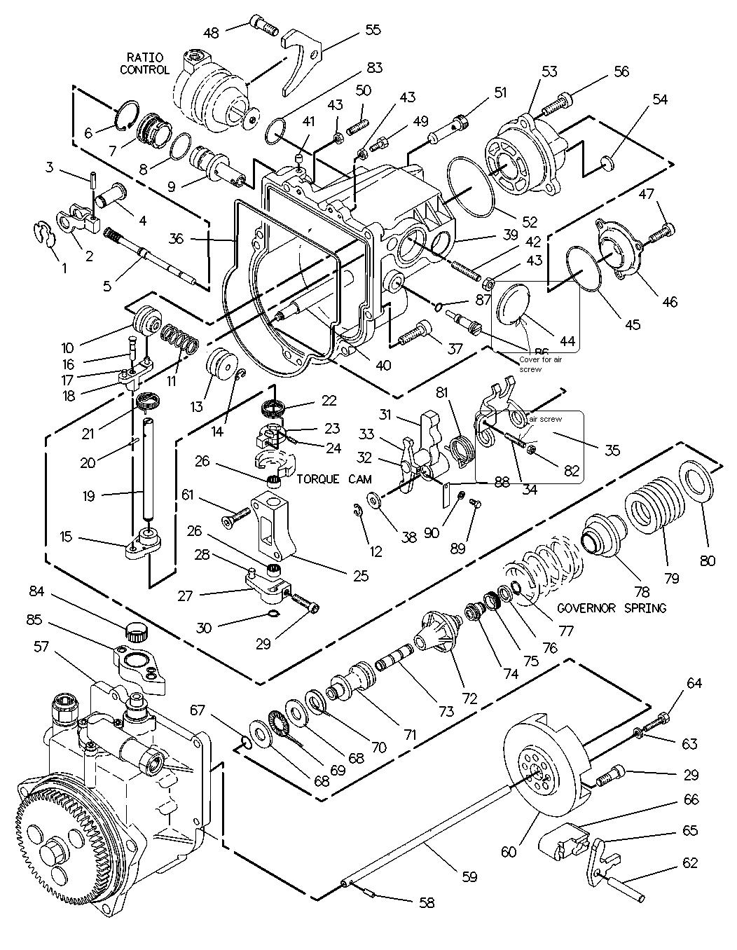 3126 caterpillar engine parts diagram