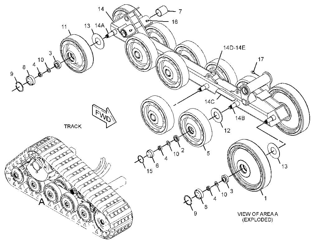 wiring diagram for 247b cat skid steer jcb skid steer