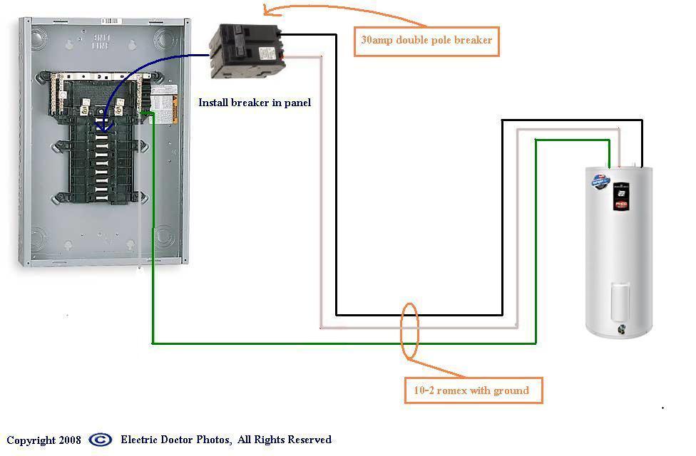 240 Water Heater Wire Diagram Wiring Diagrams Folder