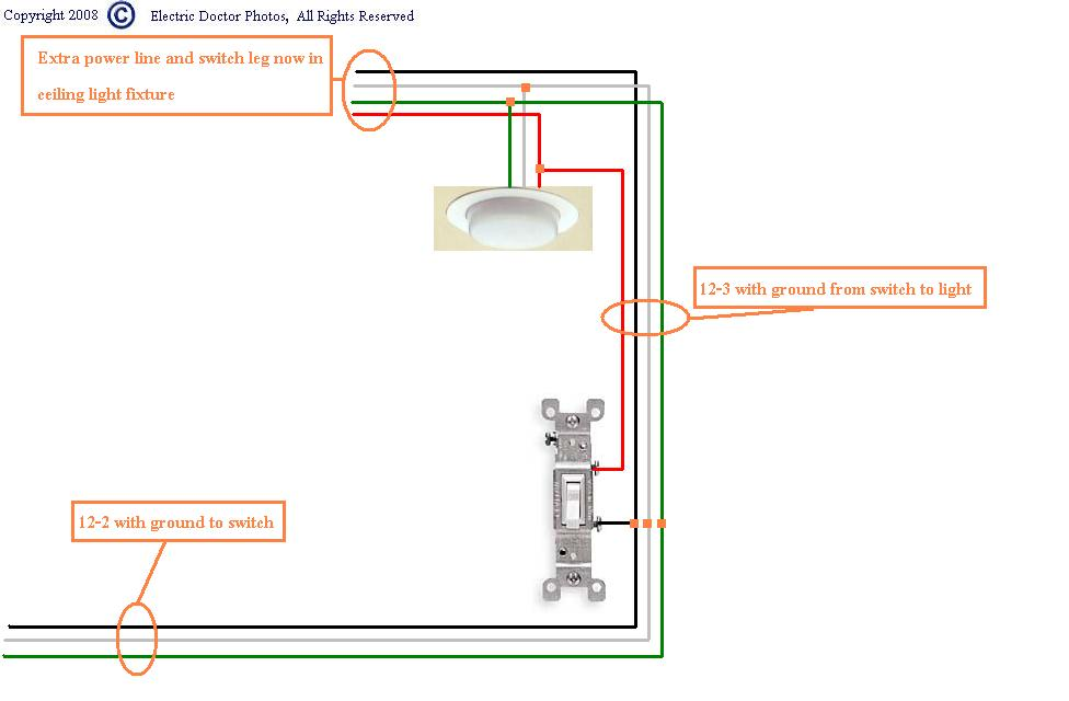 Wiring Diagram Switch Leg : How do i go about wiring a switch from power source to