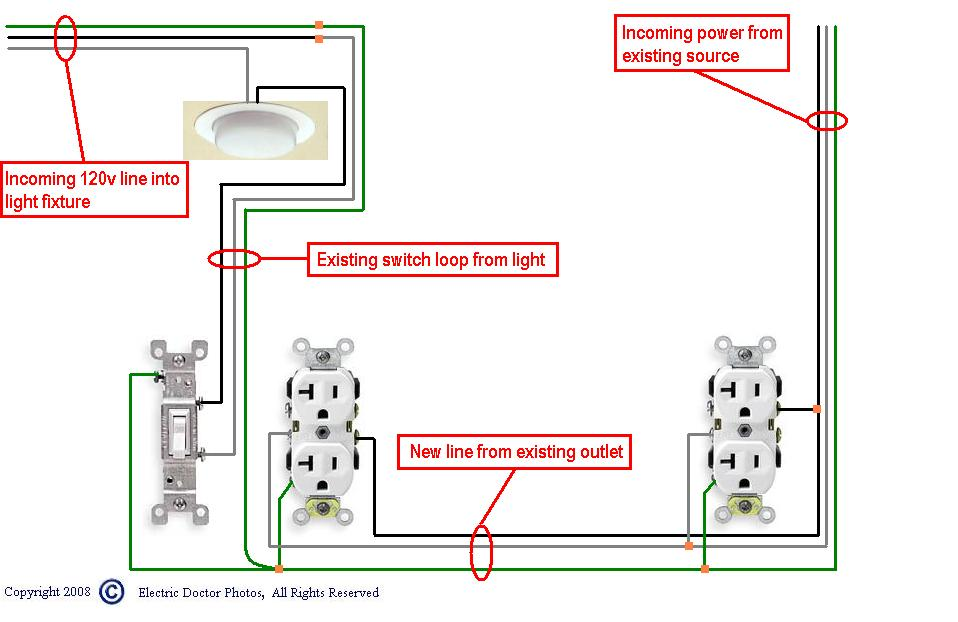 I Have A 14  115 Volt House Wiring  Black Is Hot  Is