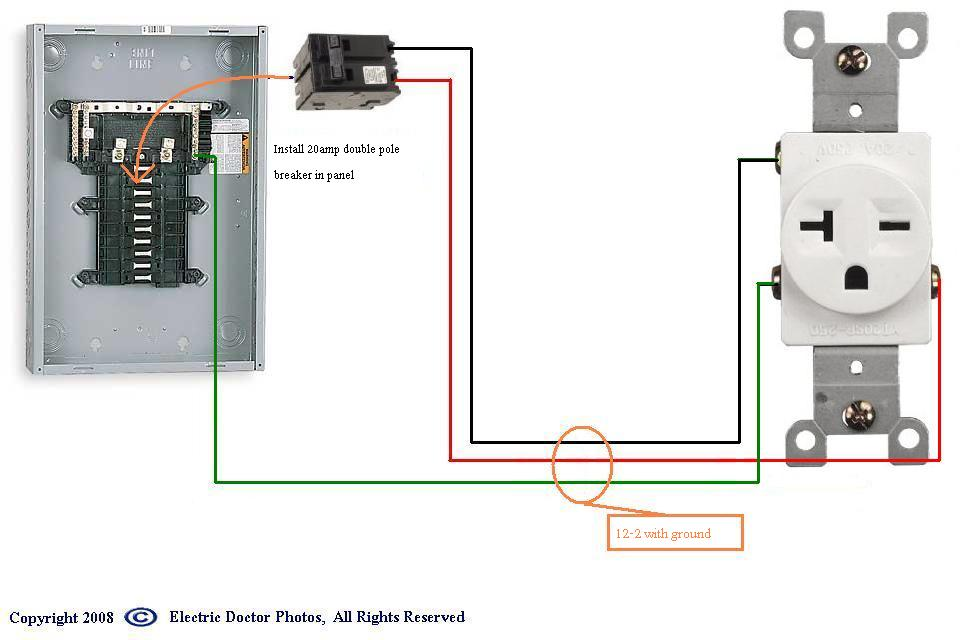 Wiring A 220v 20 Amp Outlet | Wiring Diagram on gfci switch outlet combo diagram, 20 amp single outlet, 20 amp plug adapter, 20 amp outlet receptacle, 20 amp dedicated outlet, 20 amp receptacle 277 volt, 20 amp outlet cover, 20 amp 220v outlet, 20 amp power outlet, 20 amp gfci outlet, electrical outlet installation diagram, 20 amp switch, 20 amp to 30 amp rv plug, 20 amp outlet plug, 120v 20 amp outlet diagram, 20 amp wall outlet, 20 amp outlet types, two wire outlet diagram, 220v sub panel diagram, 20 amp gfci wiring diagrams,
