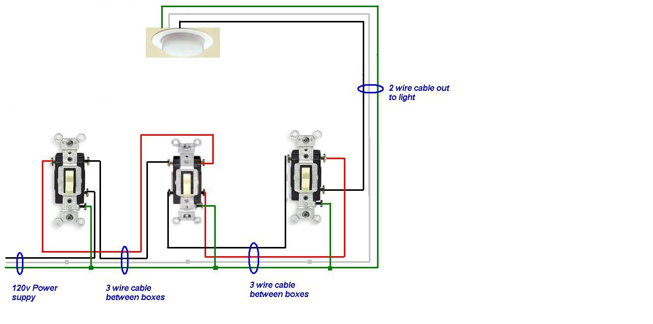 Switch Leg Wiring Light Free Diagram For You Asking Again About The 4 Way Lights I Have Wired Rh Justanswer Com Outlet Color