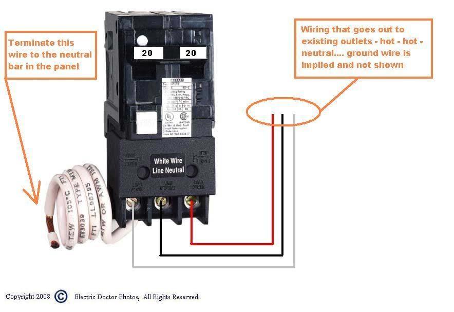 gfi breaker diagram wiring diagram site gfi breaker diagram wiring diagram data 50 amp gfci breaker wiring diagram for gfci breaker diagram