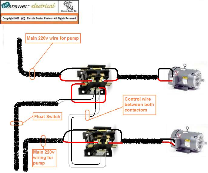 im looking to hook up a well pump to turn on by a float switch, electrical diagram, well pump float switch wiring