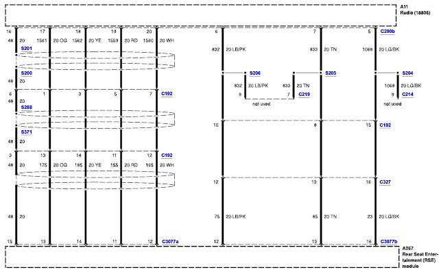 Do You Have A Wiring Diagram For The Autovision Entertainment System In A 2002 Ford Windstar Sel