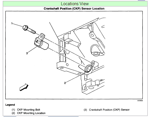 Where Is The Crank Position Sensor Located On A 2002 Chevy 2500hd Rhjustanswer: 2002 Chevy 6 0 Crankshaft Position Sensor Location At Gmaili.net
