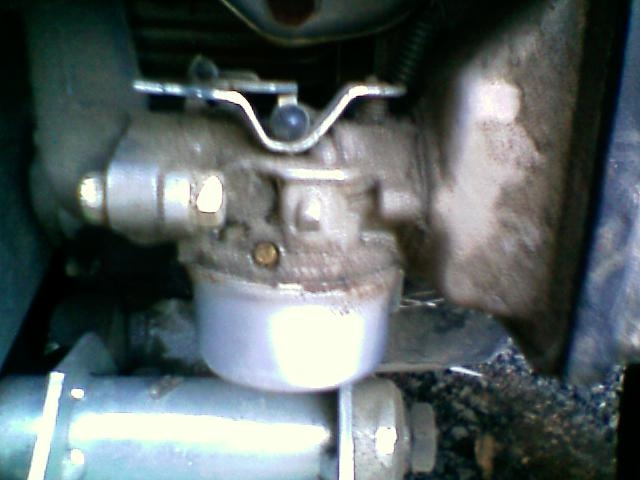 My Tecumseh 6 5 hp motor on my Yerf Dog runs and idles great but at