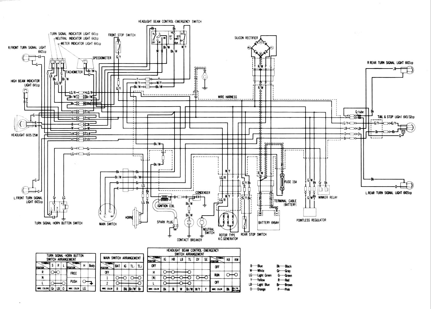 i need a wiring diagram for a 1974 xl70 honda