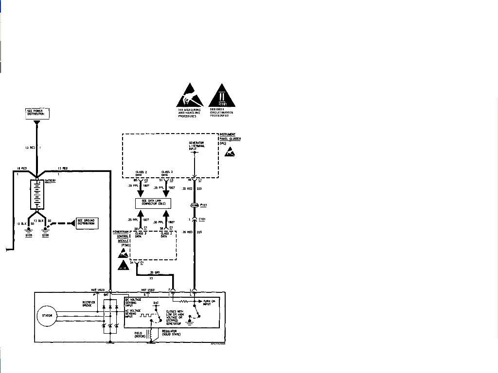 1997 Cadillac Deville Alternator Plug Missing Pt1742  Need