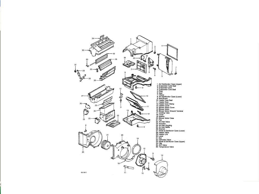 1995 chevrolet k1500 pick up  heater duct schematic  where can i find one