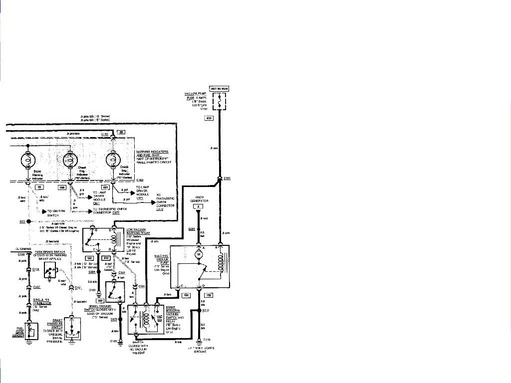 I Need A Dash Wiring Schematic For 81 Malibu  Instrument Cluster Was Changed To A Rally Style