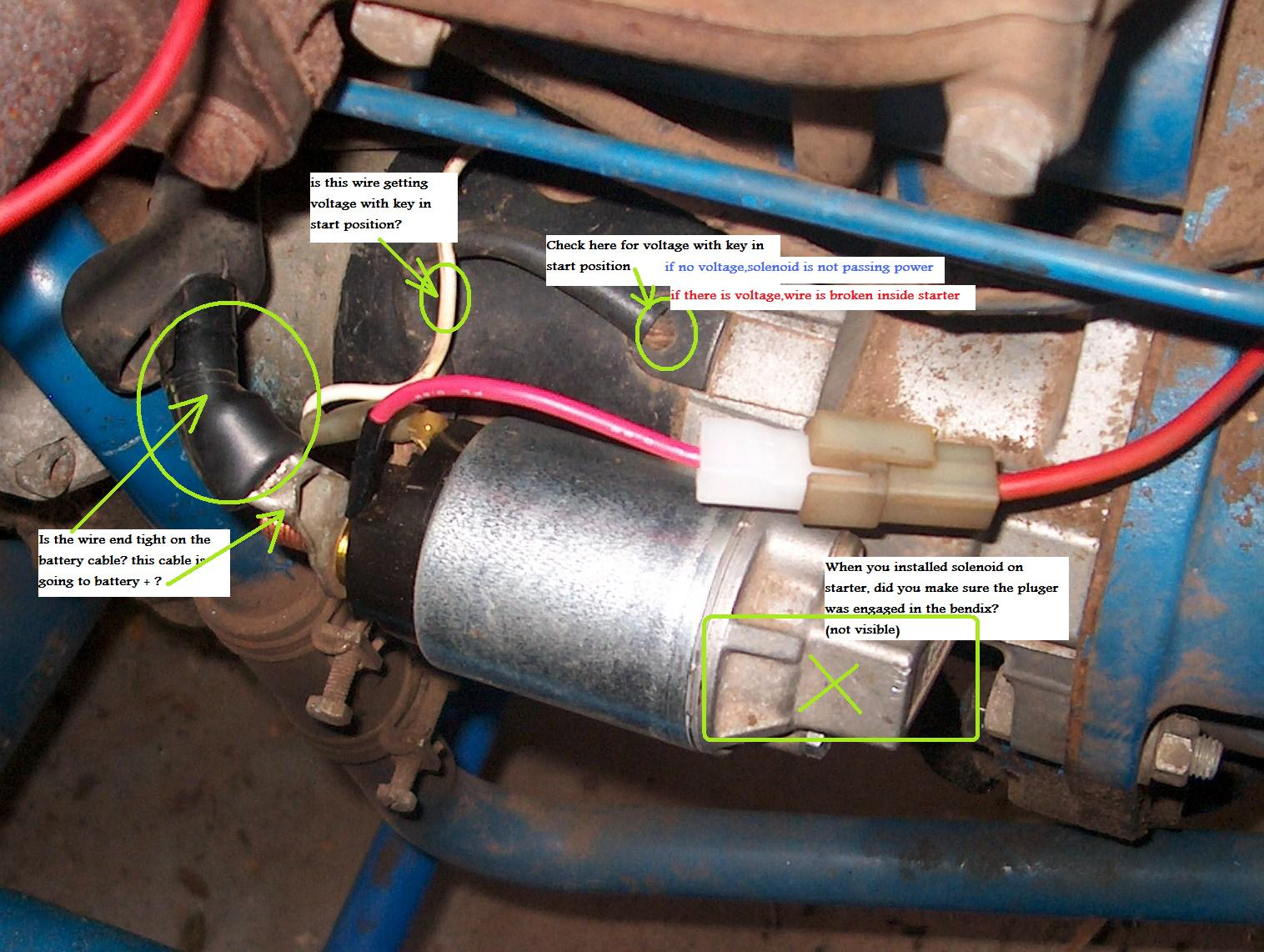 ford 1710 wiring diagram only wiring diagramford 1710, new battery, starter solenoid, key switch get 12 6v toford 1710