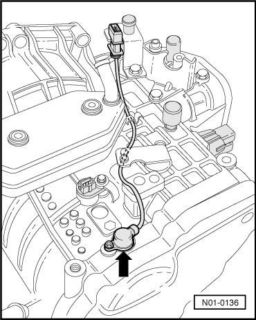 2001 Volkswagen Beetle Transmission Diagram