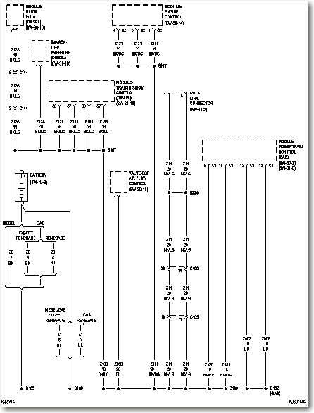 Jeep liberty ignition wiring diagram