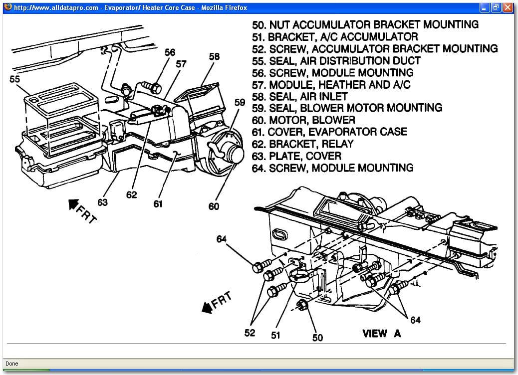 evaporator 2000 grand am diagram   32 wiring diagram