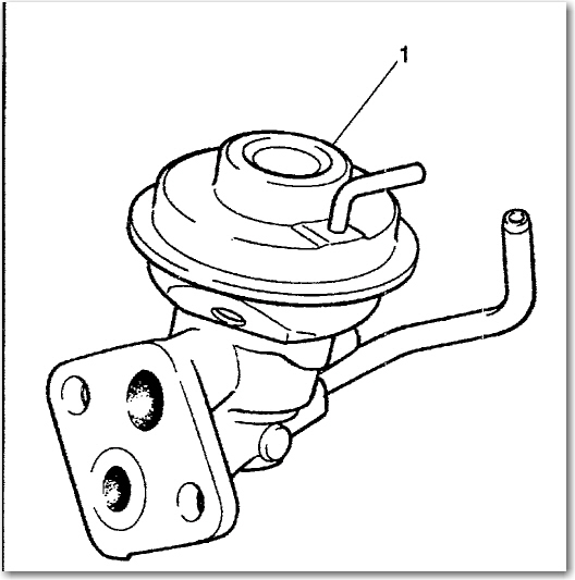 I Need To Replace The Egr Valve On A 1997 Geo Prizm Where Is The