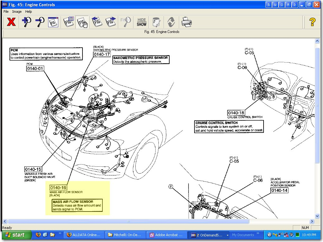 Where Is The Iat Sensor Located On A Mazda Rx 8 And Would I 2007 Fuel Filter Location Graphic