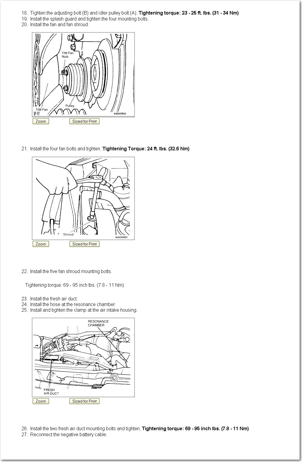 I Want To Change Timing Belt And I Need Timing Diagram For