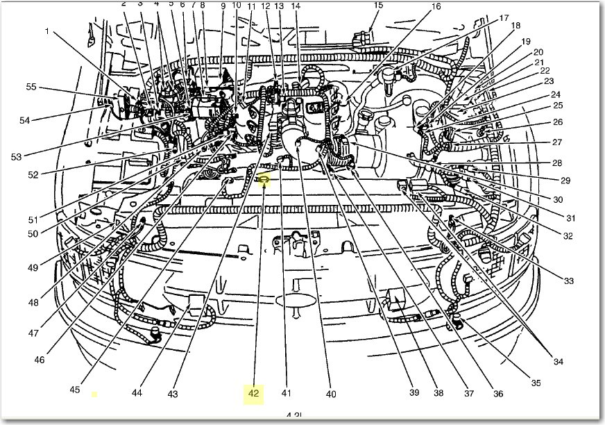 1999 ford f 150 engine diagram how to replace crankshaft position sensor of 98 f 150 w/ 4 ...