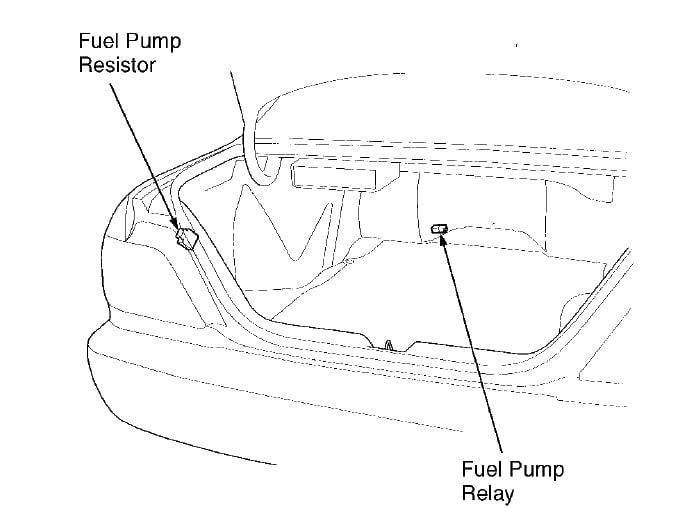 1996 acura 3 5 rl how to locate fuel pump relay rh justanswer com 96 acura integra fuel pump wiring diagram In Tank Fuel Pump 97 Civic Performance