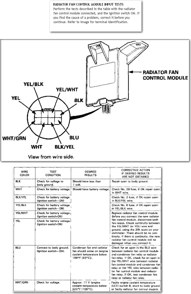 Blower Motor Wiring Diagram On 1998 Honda Accord Radio Wiring Diagram