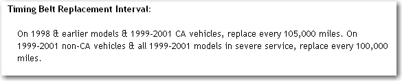 Does The 1999 Chrysler 300m 3 5l Engine Have A Timmimg