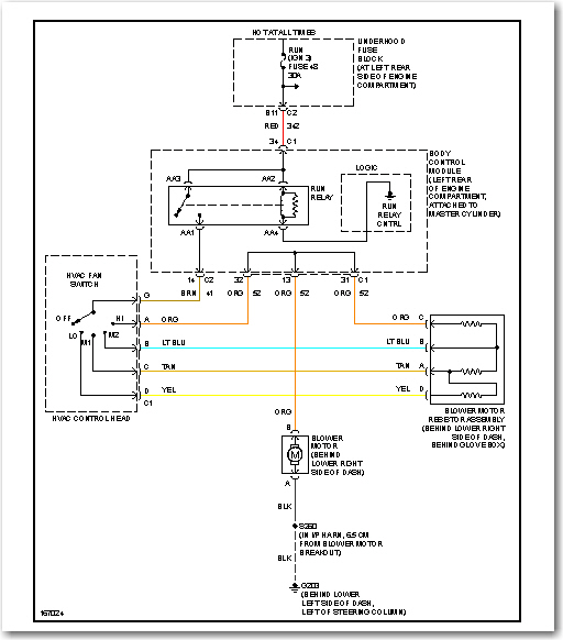 2003 saturn ion ac wiring diagram my 2003 saturn ion 4 door sedans air conditioning and ... 2005 saturn ion headlight wiring diagram #13