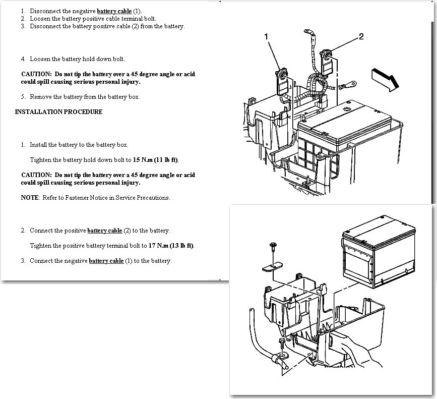 Location Of Battery In 20006 Pontiac Torrent