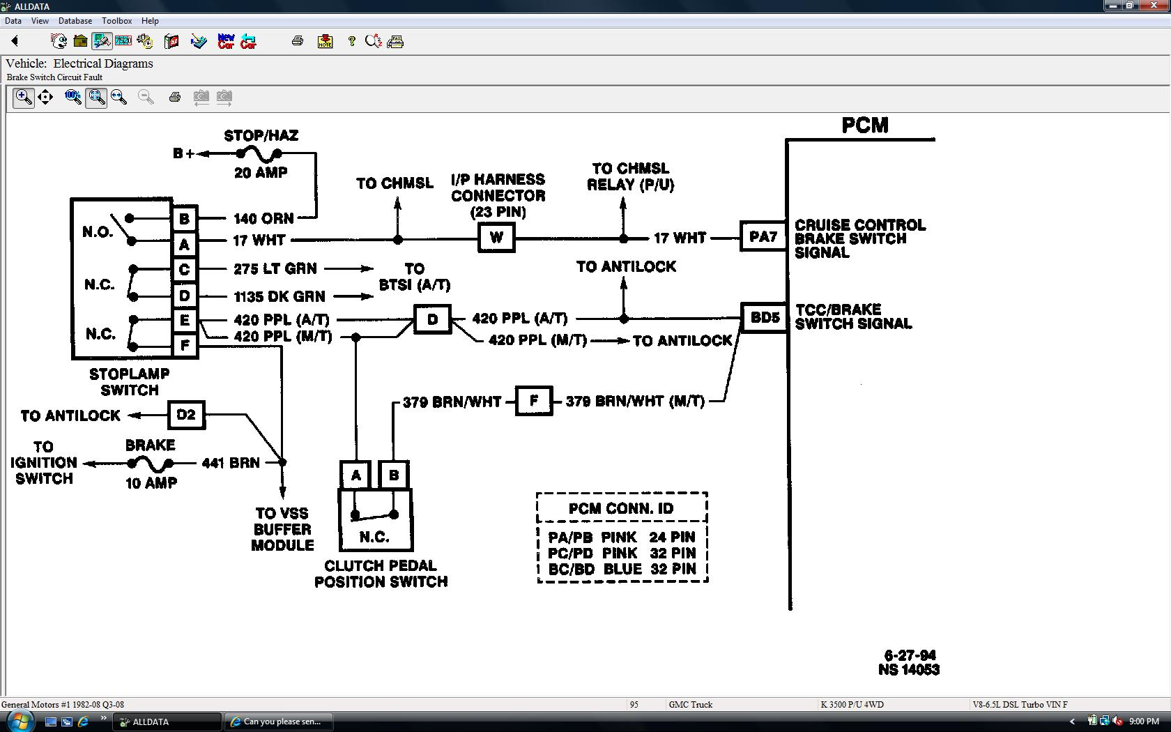 Can You Please Send Me A Wiring Diagram Of The Tcc Circuit