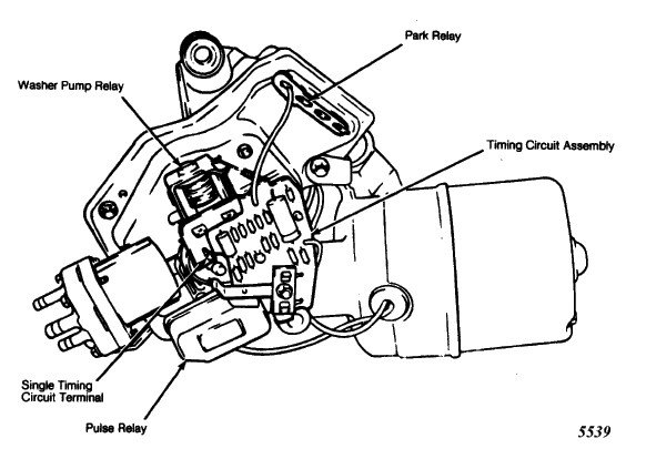 Wiper Motor Does Not Start Or Starts And Sets In A Low Position On