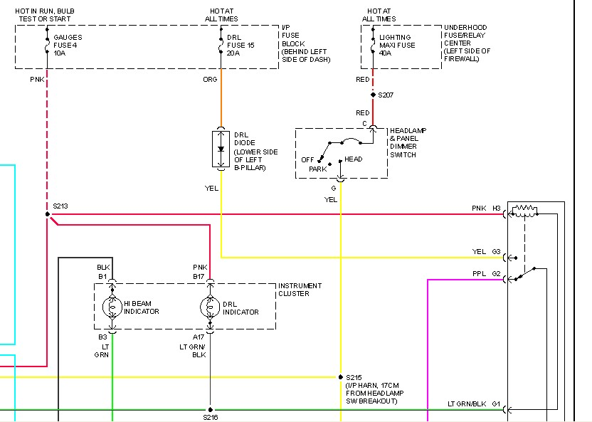 I Have A 1999 GMC Safari Van The Diode That Keeps Headlights On Rh Justanswer 2006 Sierra Fuse Box Diagram 1989: 2006 GMC Van Fuse Box Location At Kopipes.co
