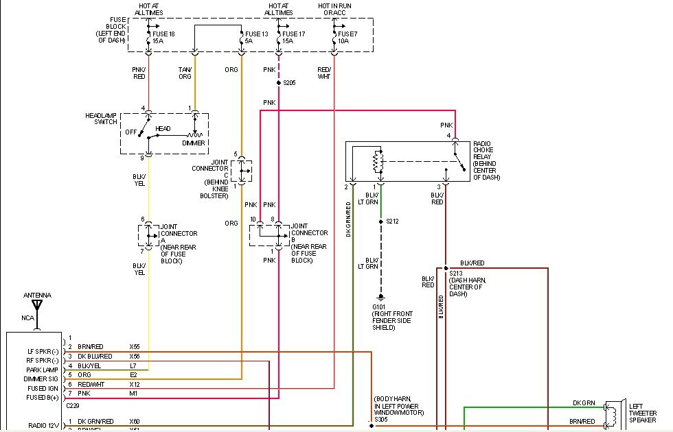 Dodge Infinity Radio Wiring Diagram Free Download Wiring Diagram