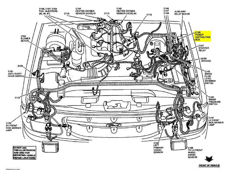 ford explorer fuse diagram