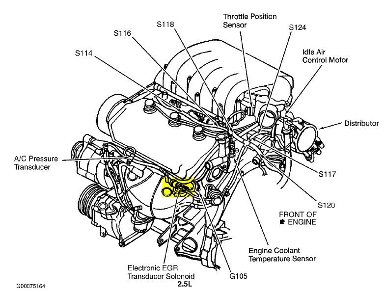 2000 chrysler engine diagram
