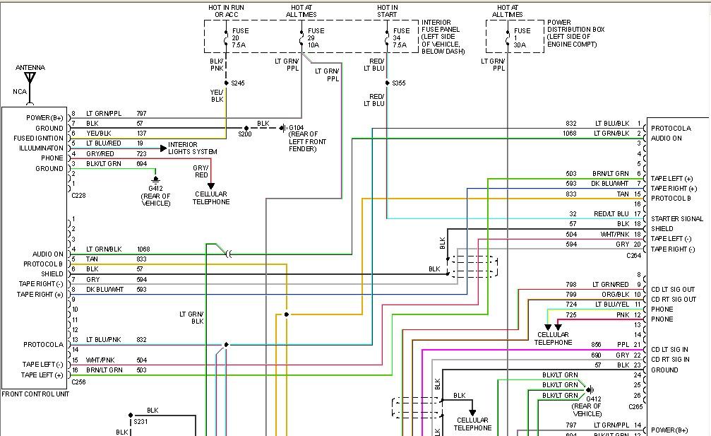 How do i test a 1997 ford explorer factory amp