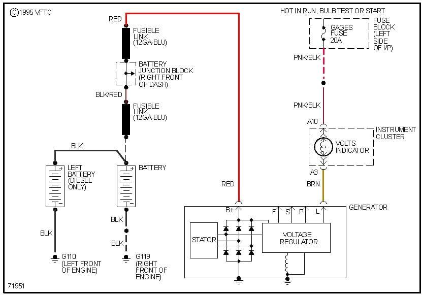 I Am Switching My Standard 1972 Alternator On My 1972