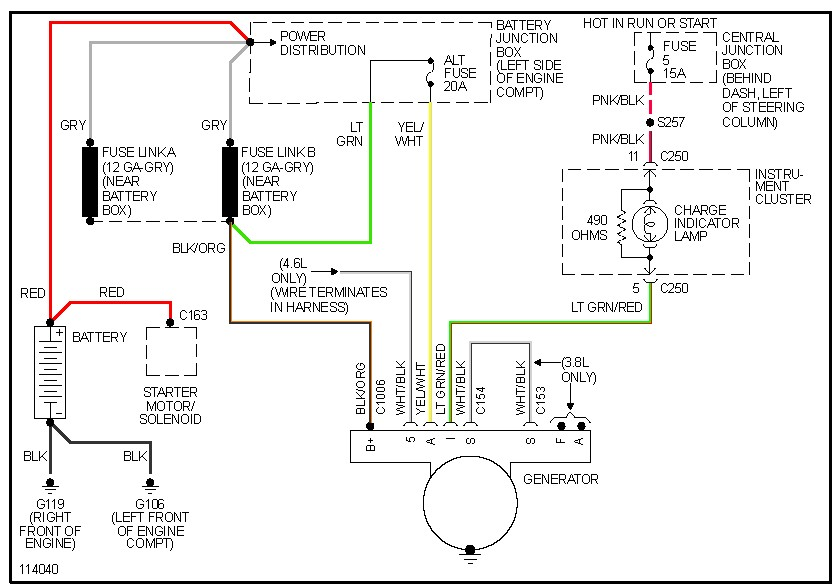On A 79 Ford Ltd 351w I Need To Know Where The Wiring