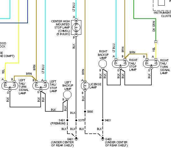 Installing A 4 Prong Trailer Wiring Plug And Need To Know Which Wires To Splice Into