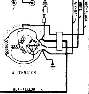 1965 Ford Thunderbird Alternator Wiring Diagram