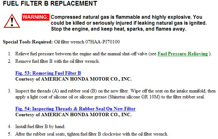 I am looking for the location of the fuel filter on my 2001 honda graphic graphic graphic ask your own honda question sciox Images