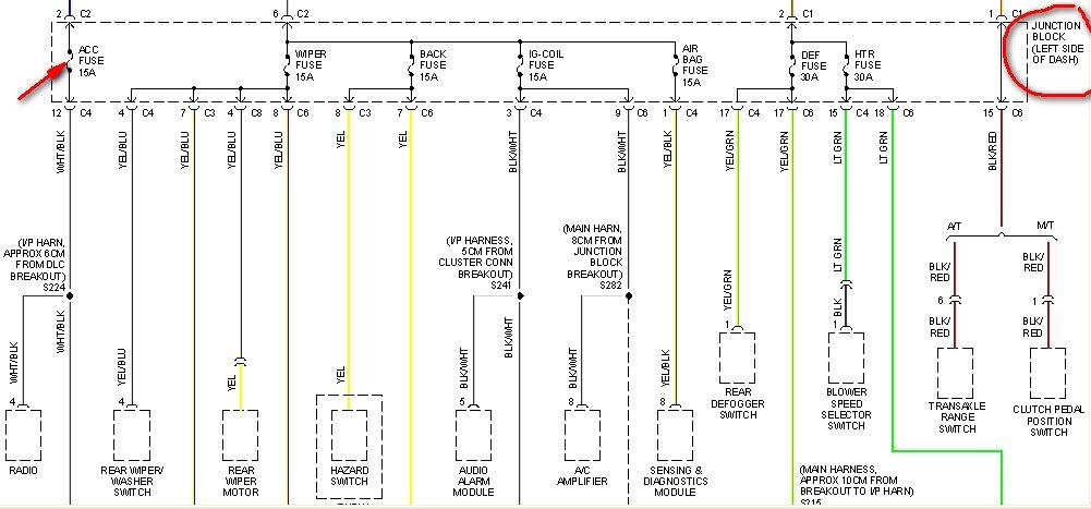 [DIAGRAM_0HG]  Where is the Fuse Box on a 2000 Chevy Metro? My fuse blew about 9 months  ago as soon as I plugged in my cell phone | 2000 Chevy Metro Fuse Box Diagram |  | JustAnswer